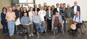 Bild des neue gewählten Behindertenbeirat